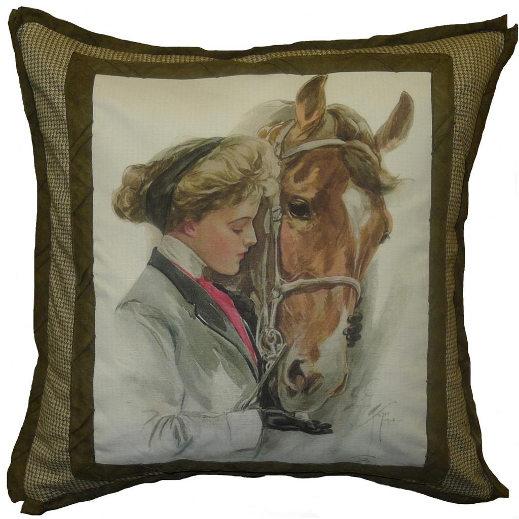 EDW Horse-Taupe Image
