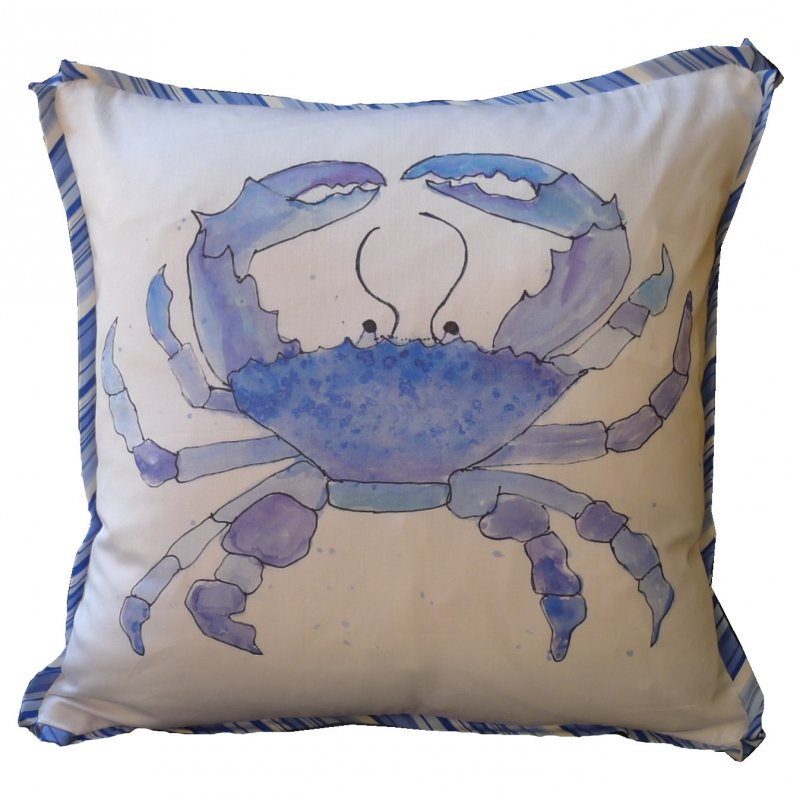 Watercolor Crab Image
